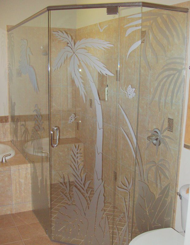 17 Images About Frosted Glass Decals On Pinterest