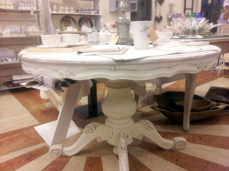 tavolo shabby chic  Katy personal restauro e mobili decapati  Pinterest  S...