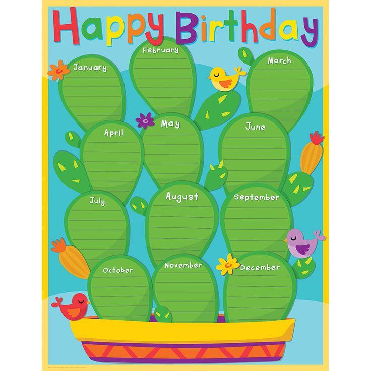 25+ Best Birthday Chart Classroom Ideas On Pinterest