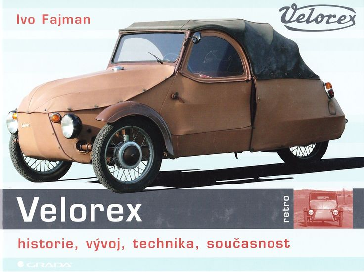 Velorex was a manufacturing cooperative in Solnice, Czechoslovakia. Notable products included a small three-wheeled car, produced from the 1950s until 1971, and the Type 562 sidecar. The sidecar is still manufactured in the Czech Republic by Velorexport, the successor to Velorex.