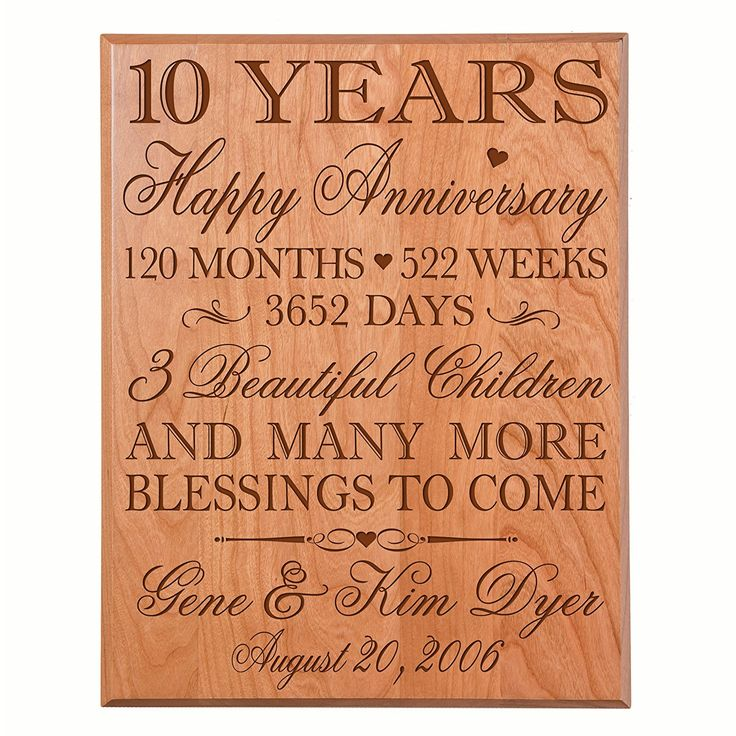 Gifts For 10th Wedding Anniversary For The Couple: 25+ Best Anniversary Gifts For Couples Ideas On Pinterest