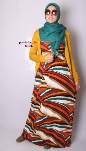 Hijab Maxi Dresses by Prude & Style Girl | Just Trendy Girls