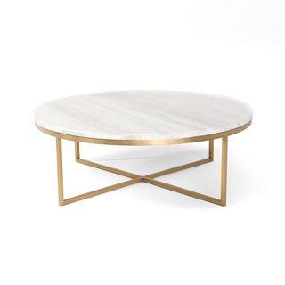 Shop for RST Brands Valentina Brass/Marble 34-inch Round Conversation Table. Get…
