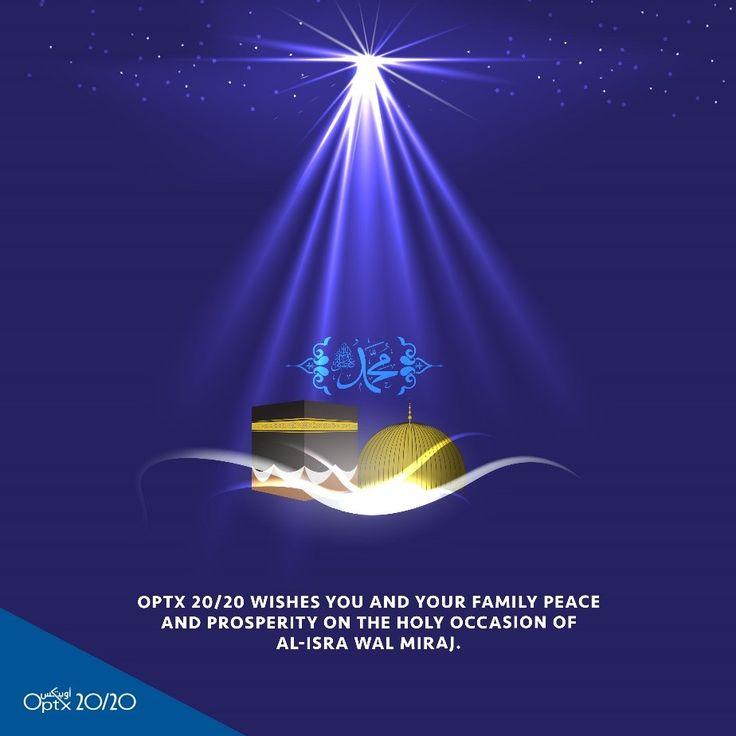 Wishing you a blessed Al-Isra Wal Miraj.