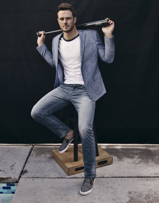 Chicago Cubs star Kris Bryant stars in a new campaign for Express