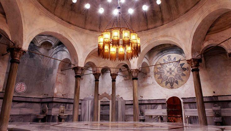 Cağaloğlu Hamamı - very old turkish hamam