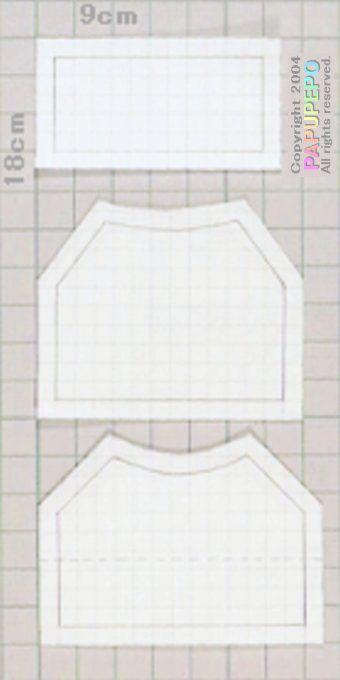 """Kiel-stijl blouse """"Papupepo"""" handgemaakte kleding van hoe je een dress-up pop maken"""