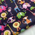 ПВХ покрытием водонепроницаемые ткани Птица на Светло Желтый Розовый фон (WF010) купить на AliExpress