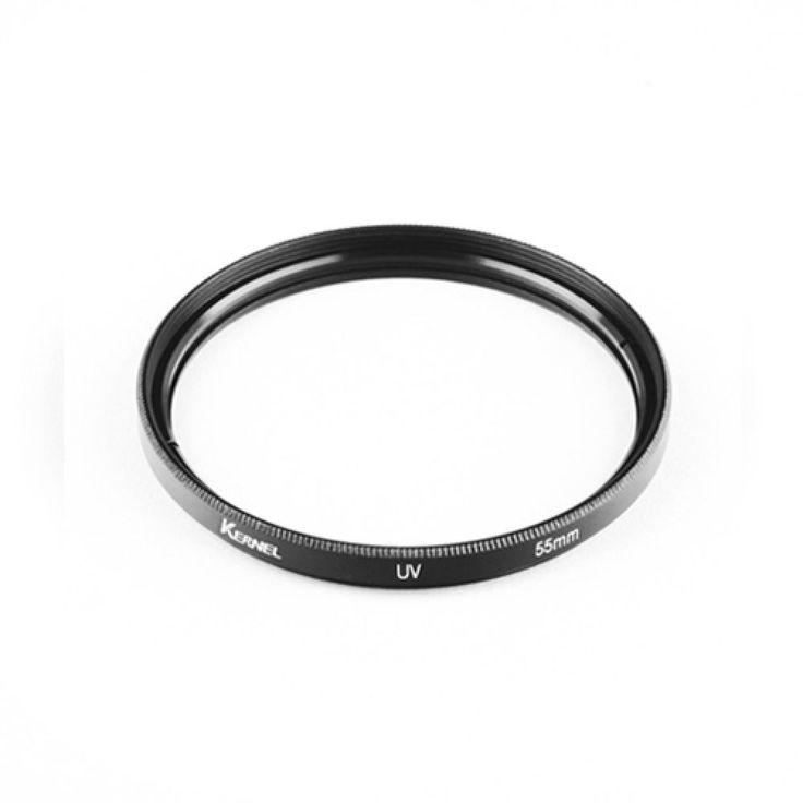 New Kernel UV 55mm Ultra-Violet Filter Lens Protector For Nikon Canon Samsung #Kernel