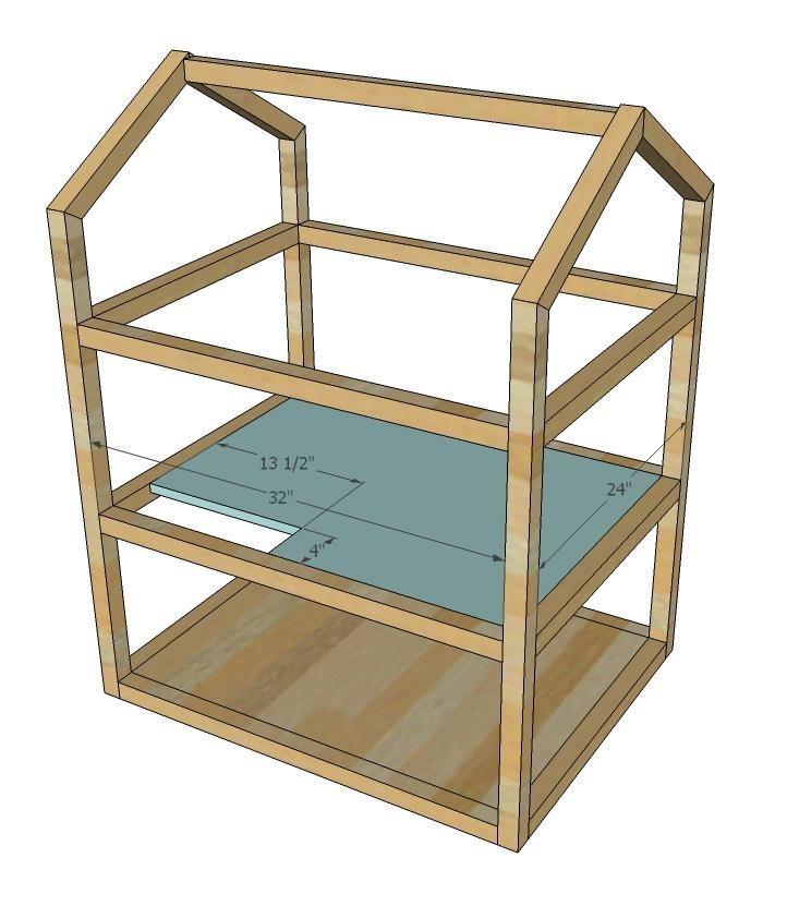 28 fantastic dollhouse blueprints woodworking plans for Dollhouse building plans free