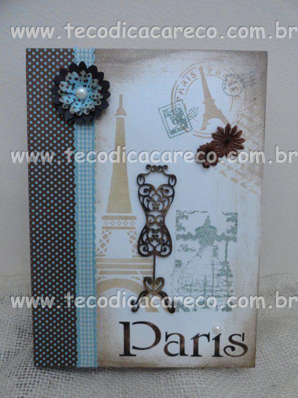 Caixa Livro - PARIS