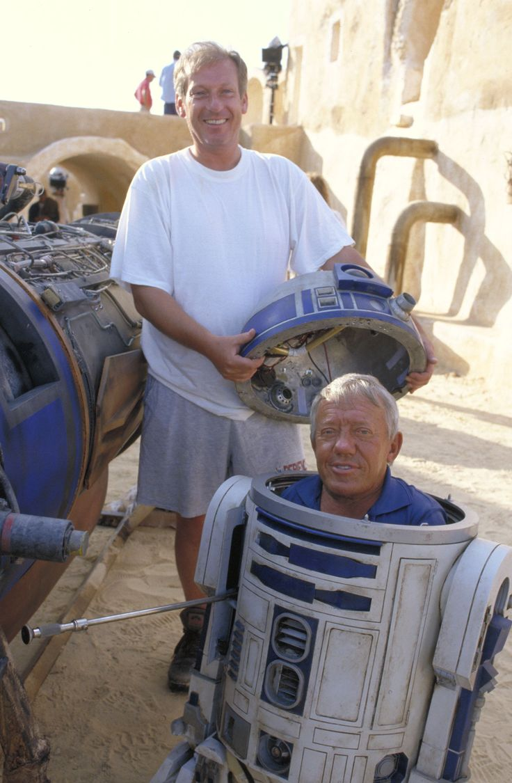 Image detail for -Star Wars The Phantom Menace Behind the Scenes
