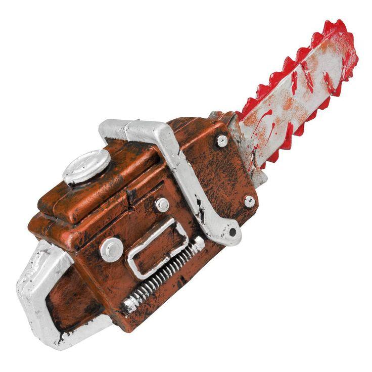 fancydressvip - Horror Chainsaw Hard Foam Halloween Killer Prop Weapon, £14.99 (http://www.fancydressvip.com/halloween/halloween-accessories/horror-chainsaw-hard-foam-halloween-killer-prop-weapon/)