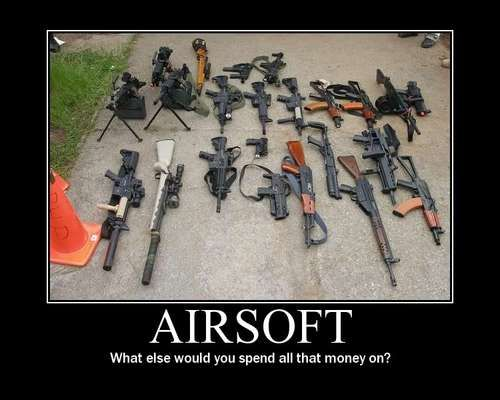Great article featuring the best affordable airsoft guns out there.Article written by a pro airsofter.Come check it out guys!