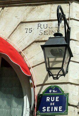 Rue de Seine - Paris VI    la rue de mon enfance
