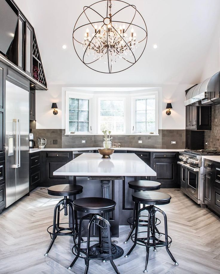 1000+ Ideas About Black Kitchen Island On Pinterest