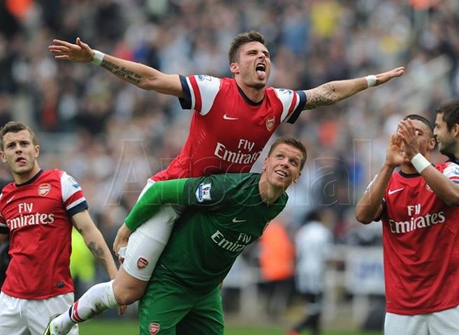 Let's Arsenal fly high!!!!