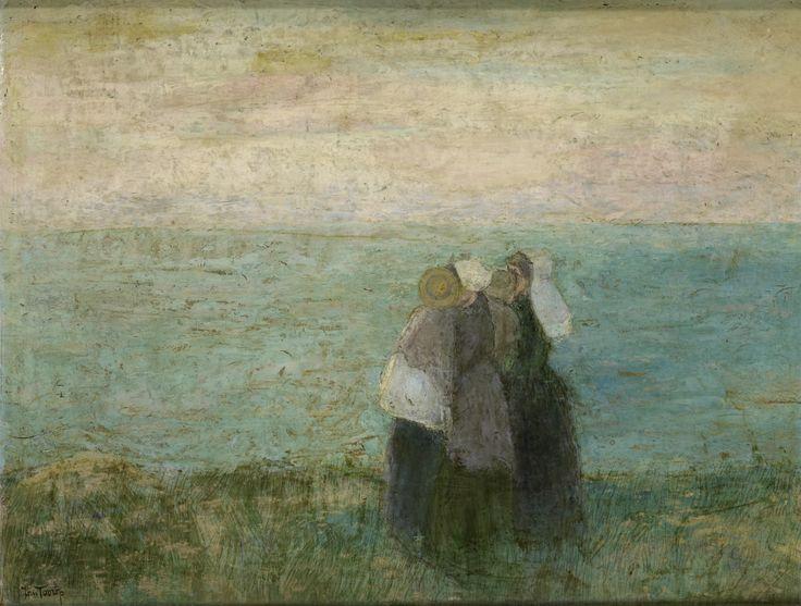 Women at the sea | Jan Toorop | 1885-1897 | Rijksmuseum | Public Domain