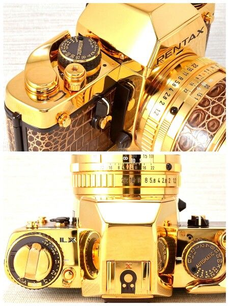 Pentax LX Gold  Cool things  Pinterest