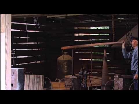 Blacksmithing At Sam Houston - YouTube