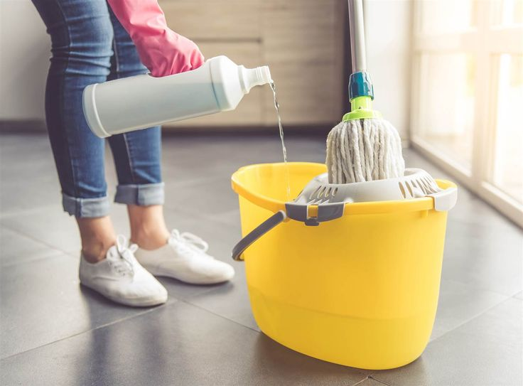 A professional cleaner's tips on the best way to mop a floor.