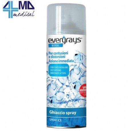 RAYS GHIACCIO-GLACE SPRAY- BOMBOLA 200 ML. IN OFFERTA A 2,45€