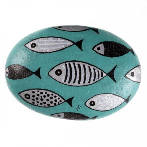 the painting on the sea rocks - crafts ideas - crafts for kids