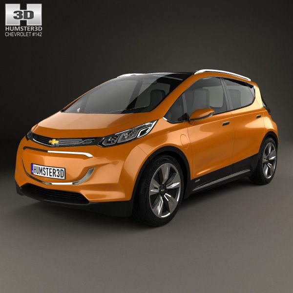 chevrolet bolt 2015 3d model from price 75 chevrolet 3d models pinterest. Black Bedroom Furniture Sets. Home Design Ideas