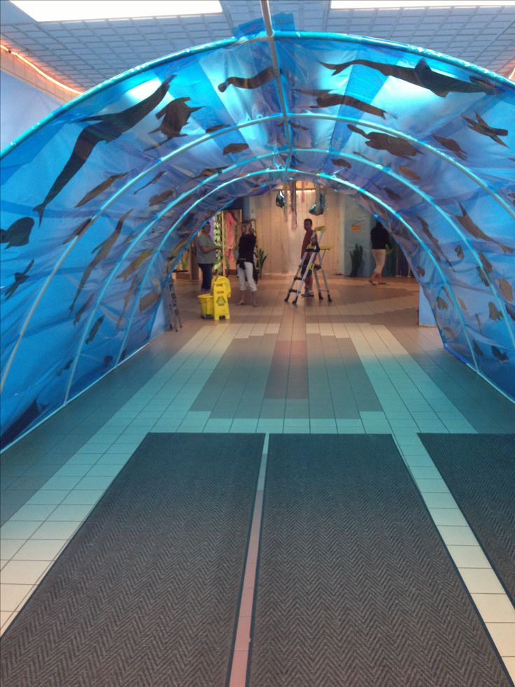 Under the Sea tunnel for dance entrance