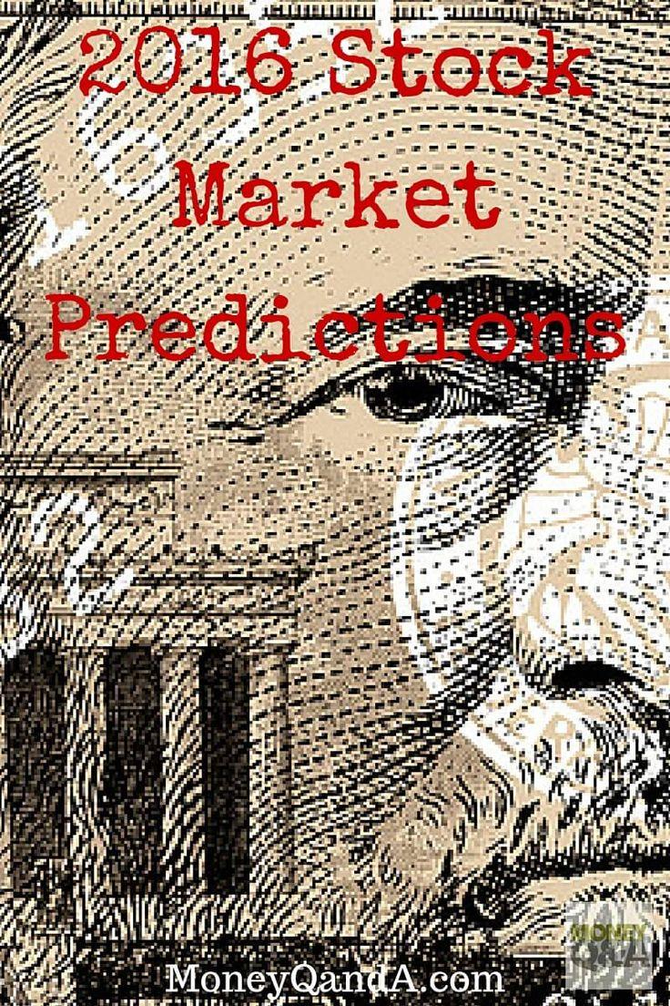 My 2016 Stock Market Predictions