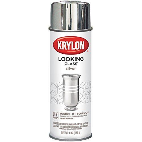Krylon Looking Glass Silver-Like Aerosol Spray Paint 6 Oz... https://www.amazon.com/dp/B003971BAY/ref=cm_sw_r_pi_dp_x_jZpsyb0FZFNTH