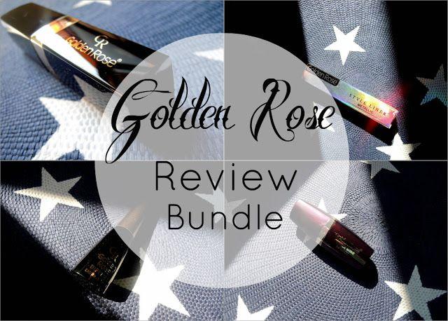 Nakon sto su me odusevili lakovi iz linije Rich  Color, moja Golden Rose avantura se nastavila u obliku ruzeva za usne i  tecnih tuseva za oci.