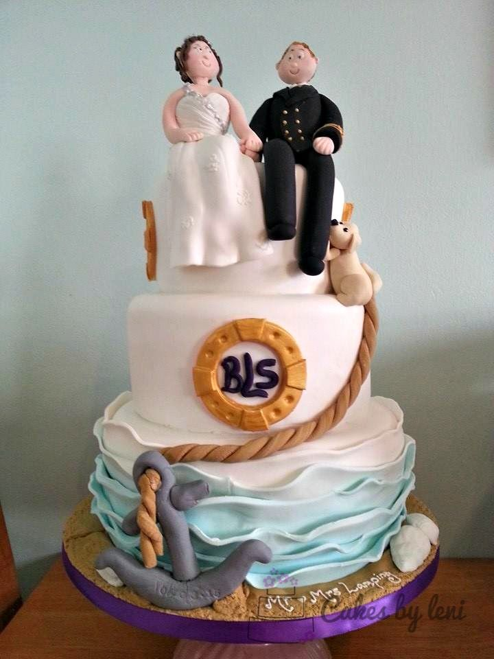 sea wedding cake toppers 17 best images about my wedding cakes on 19732