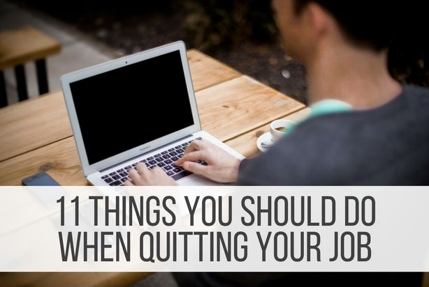 Quitting your job is a necessary evil that must be conquered before moving on to a better job, and like great stories of good vs. evil, you must have a strategy to defeat it. You need to bow out gracefully, enhancing your reputation rather than ruining it. After all, you're growing up in a fully-connected …Read more...