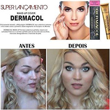 Body Dermacol Brand High Quality Concealer Liquid Foundation Cover Freckles Acne Marks Waterproof Professional Primer Cosmetic Makeup Bringing More Convenience To The People In Their Daily Life Concealer
