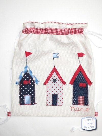 M s de 25 ideas fant sticas sobre mochila personalizada en for Casetas para guardar cosas