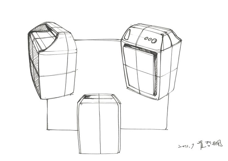 Dehumidifiers sketches