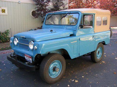 1964 Nissan Patrol L60 Soft Top