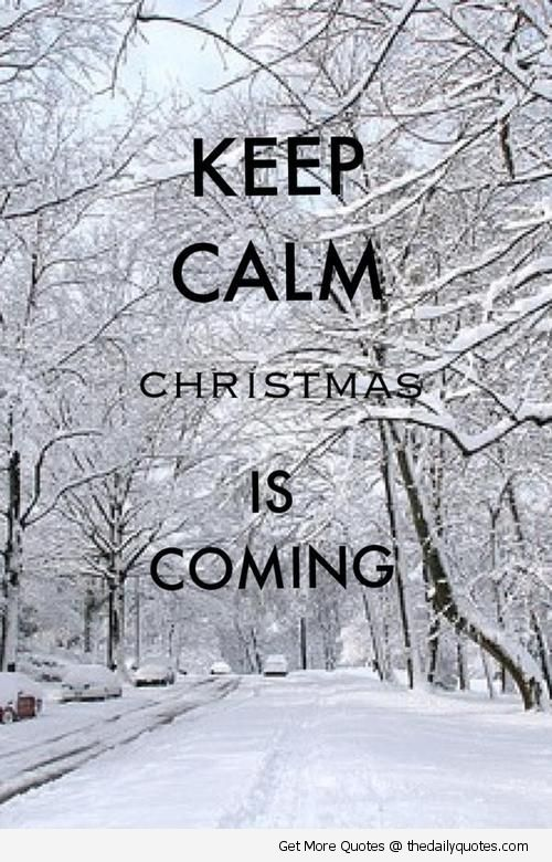 Christmas is Coming !!!!! impossible de rester calme (moi en tous cas)