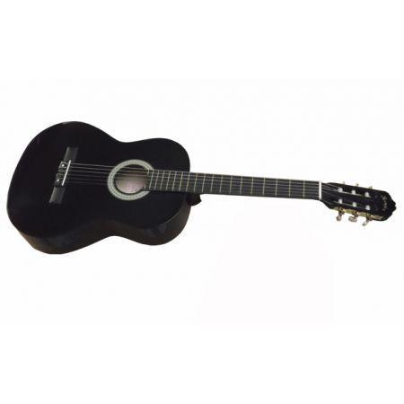 Guitarra Clásica Memphis Negra 951B - Musicopolix
