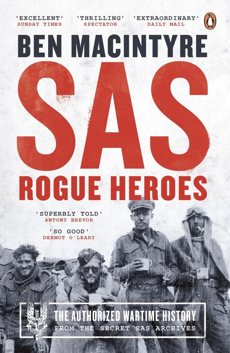 From the secret SAS archives, and acclaimed author Ben Macintyre, comes the first ever authorized history of the SAS.