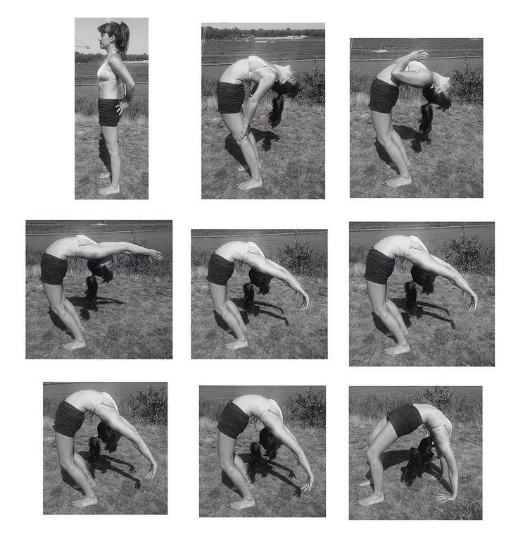 Urdhvadhanurasana aus Tadasana #iyengaryoga #hathayoga #urdhvadhanurasana #asana #yoga #backbend #dropback #iyengar #yogalove #yogapractice #yogaeveryday #wheelpose