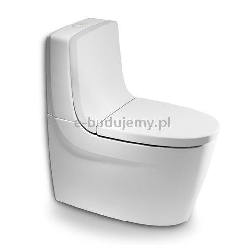 KHROMA ROCA Miska stojąca WC o/podwójny, Khroma, długość 700 mm, szerokość 390 mm, A342657000, kolor: Biały, Sklep internetowy e-budujemy.plszerokosc_