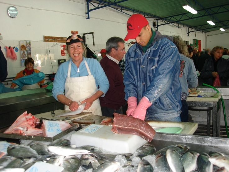 The fish market, Quarteira