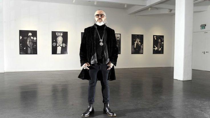 Sven Marquardt (52) Berlins berühmtester Türsteher. Als Fotograf ist er ebenso erfolgreich
