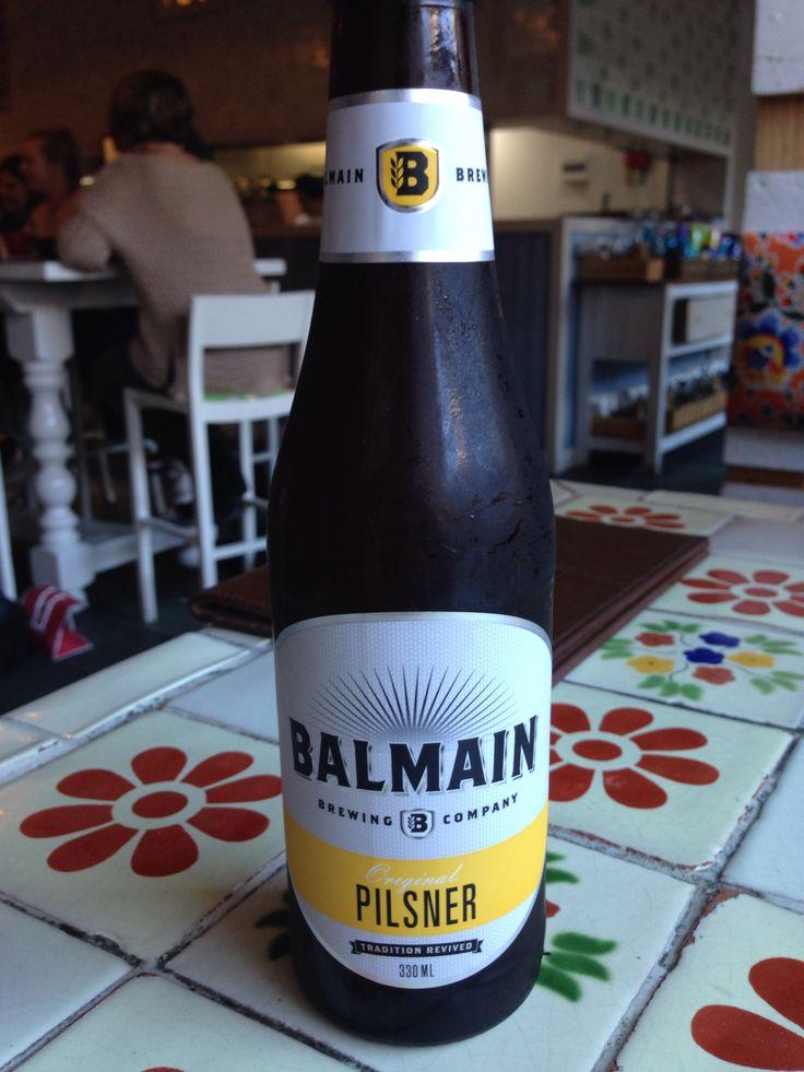 Balmain Brewing co. Pilsner