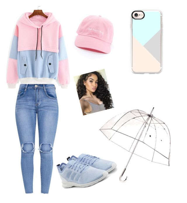 """""""rain day"""" by caaami-monsalvo on Polyvore featuring adidas Originals, Casetify and Totes"""