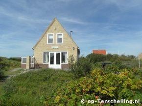 """Vakantiehuis """"Smalle Kust"""" ligt op Midsland aan Zee op Terschelling. www.smallekust.op-terschelling.nl"""