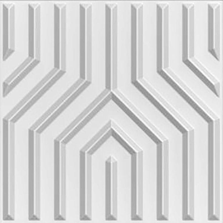 Die besten 25+ Deckenverkleidung Ideen auf Pinterest 2x4 - futuristische buro einrichtung mit metall 3d wandpaneelen