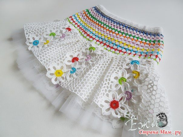conjunto niña hecho a crochet con flores patrones06